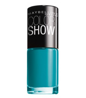 MAYBELLINE Colour Show Nail Polish 7ml. 120 Urban Turquoise