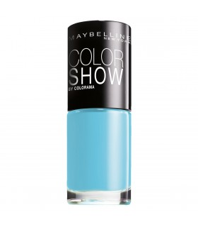 MAYBELLINE Colour Show Nail Polish 7ml. 651 Cool Blue