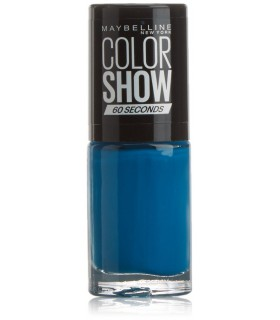MAYBELLINE Colour Show Nail Polish 7ml. 654 Superpower Blue