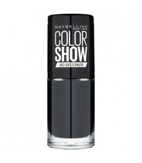MAYBELLINE Colour Show Nail Polish 7ml. 677 Blackout