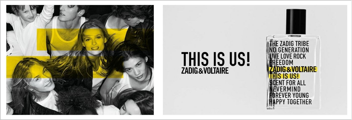 Zadig & Voltaire This Is Us! Woda Toaletowa 50ml.